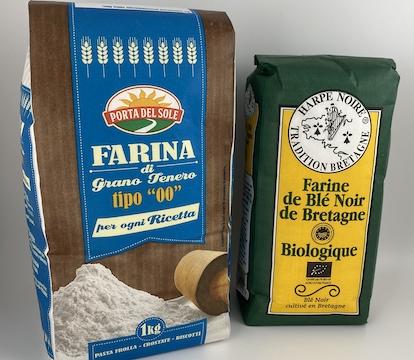 sachet farine
